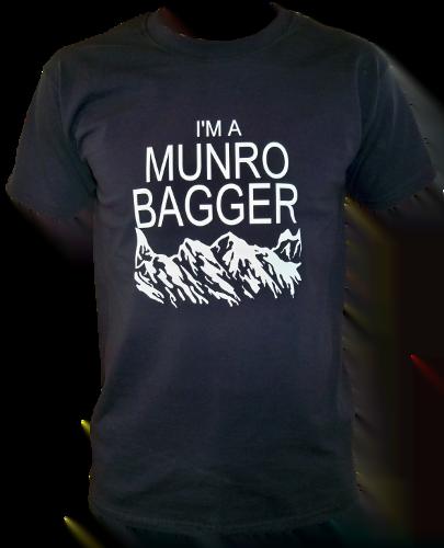 G63 – Adults T-shirt – I'm a Munro Bagger