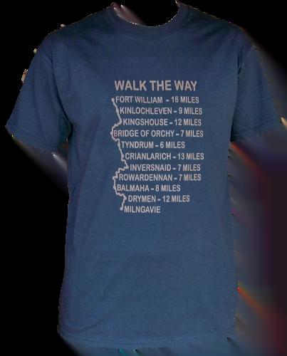 G63 – Adults T-shirt – Walk the Way T-Shirt-USE