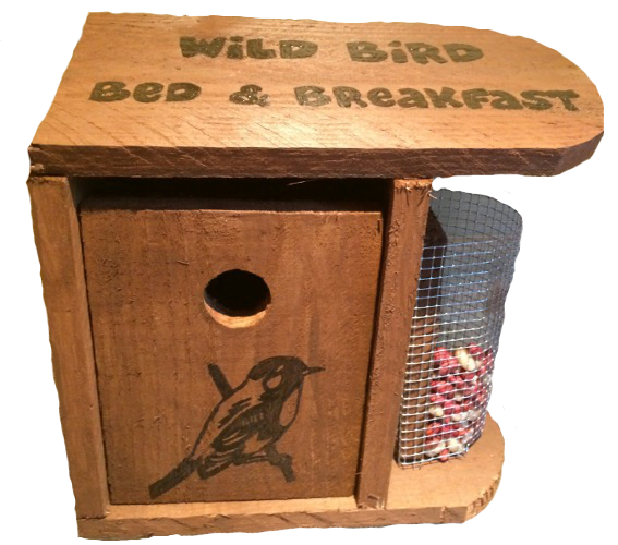 Woods – Bird hut – Wild Bird B & B