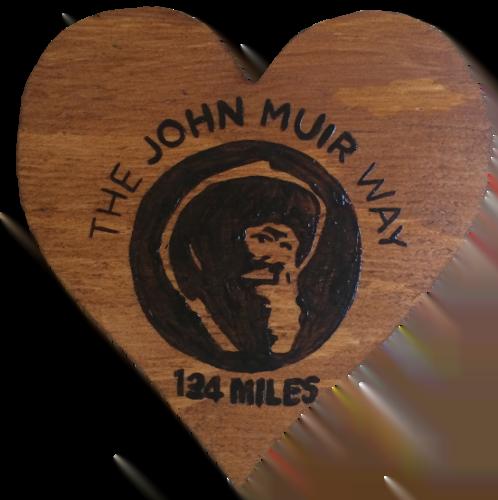 Woods – Heart Shaped John Muir Way