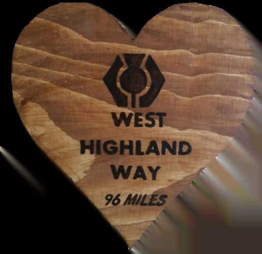 Woods – Heart – West Highland Way