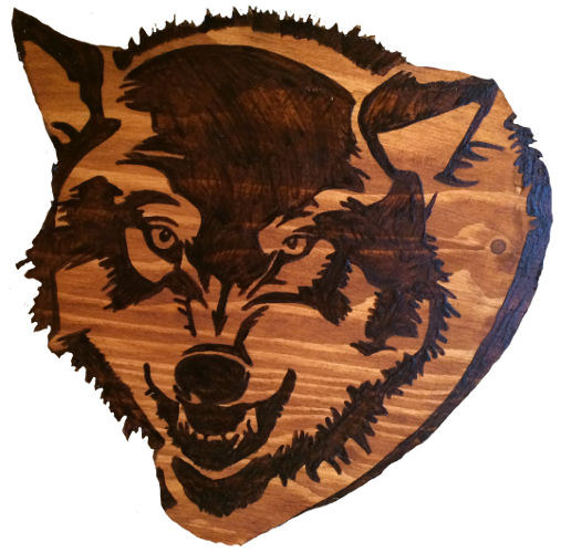 Woods – Large – Wolf Head