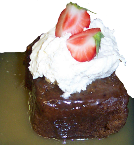 Beech Tree- DESSERT – STICKY TOFFEE PUDDING- Sept 2009