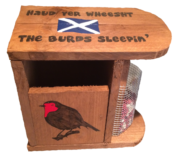 Woods – Bird hut – Robin Hut – Haud yer wheesht