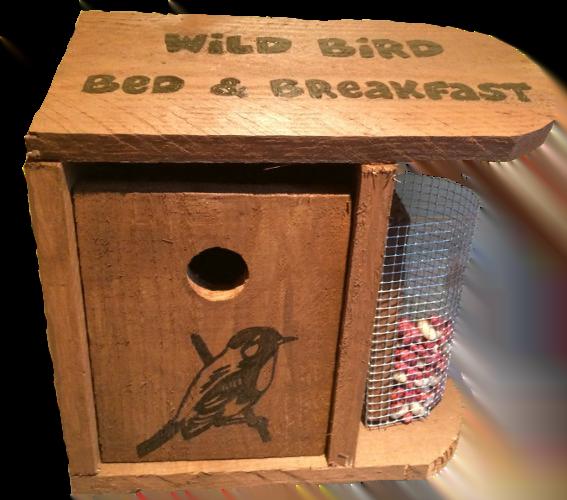 Woods – Bird hut – Wild Bird B & B