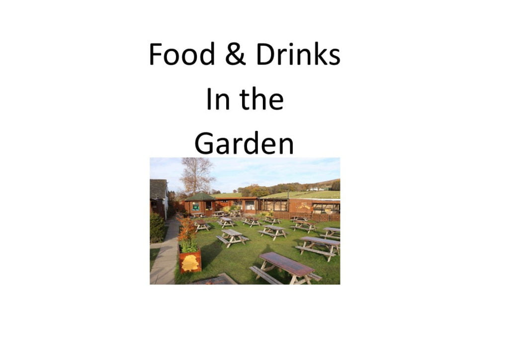 IN THE GARDEN - Food & Drinks